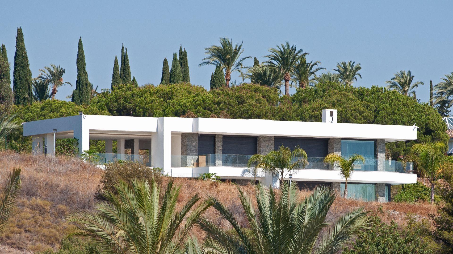 Marbella golden mile brand new modern contemporary villa - Marbella club villas ...