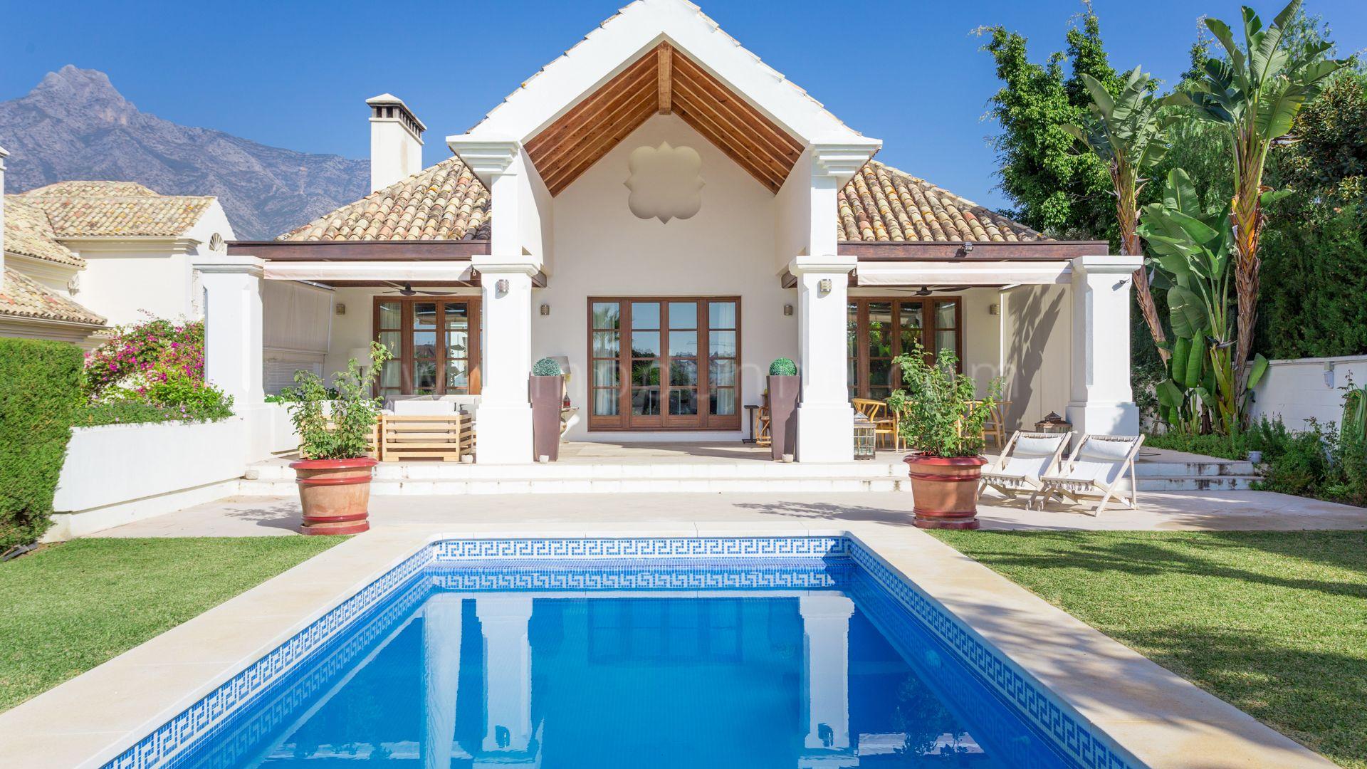 Marbella Milla De Oro Lujosa Villa Con 6 Dormitorios
