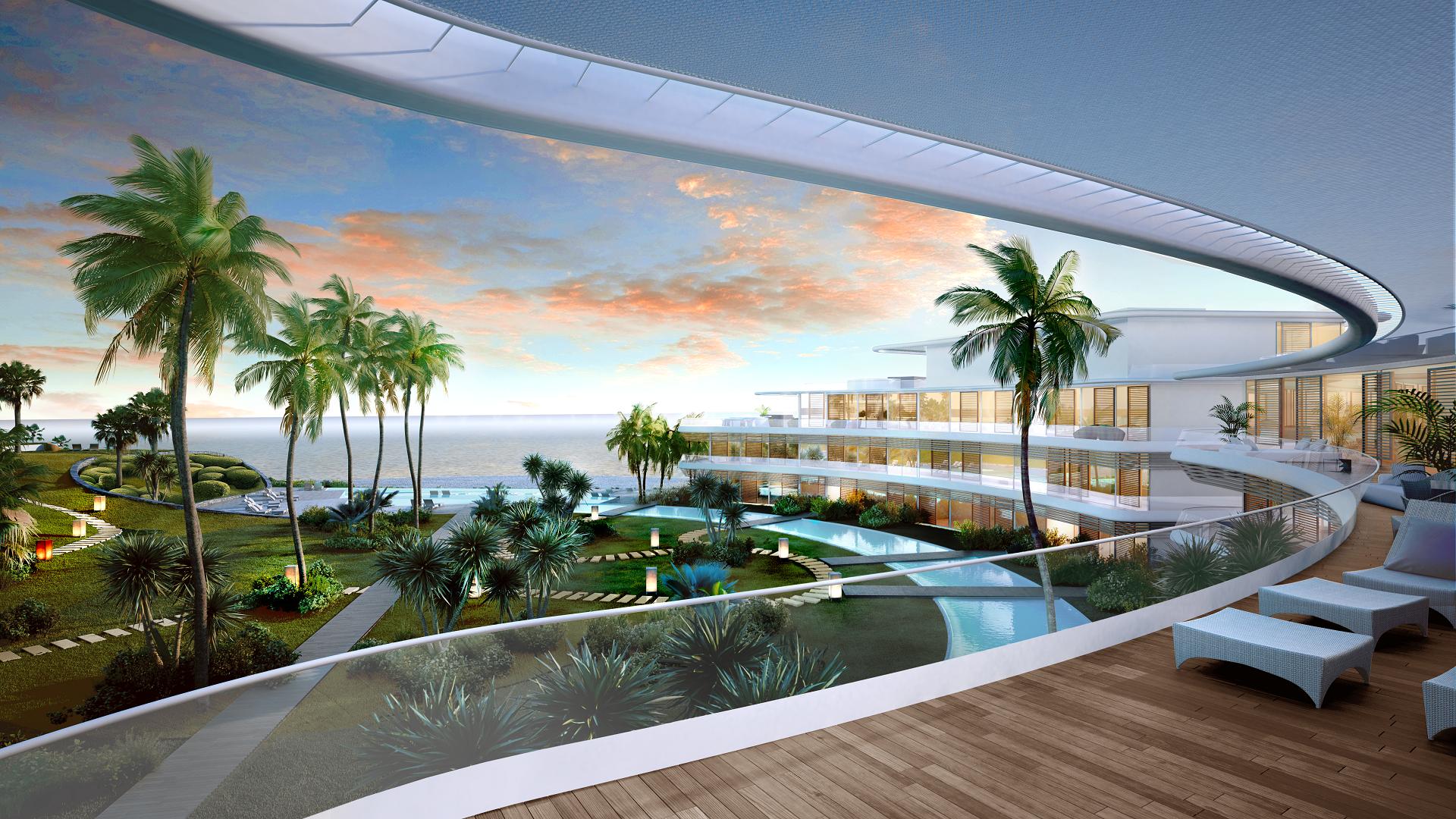 The edge estepona apartamentos de estilo contempor neo en venta sobre plano en primera l nea - Apartamentos en venta en estepona ...
