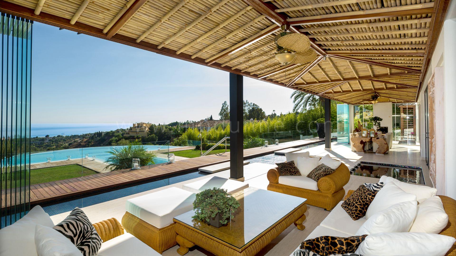 Moderne asiatische zeitgenössische Villa in Marbella - Galerie