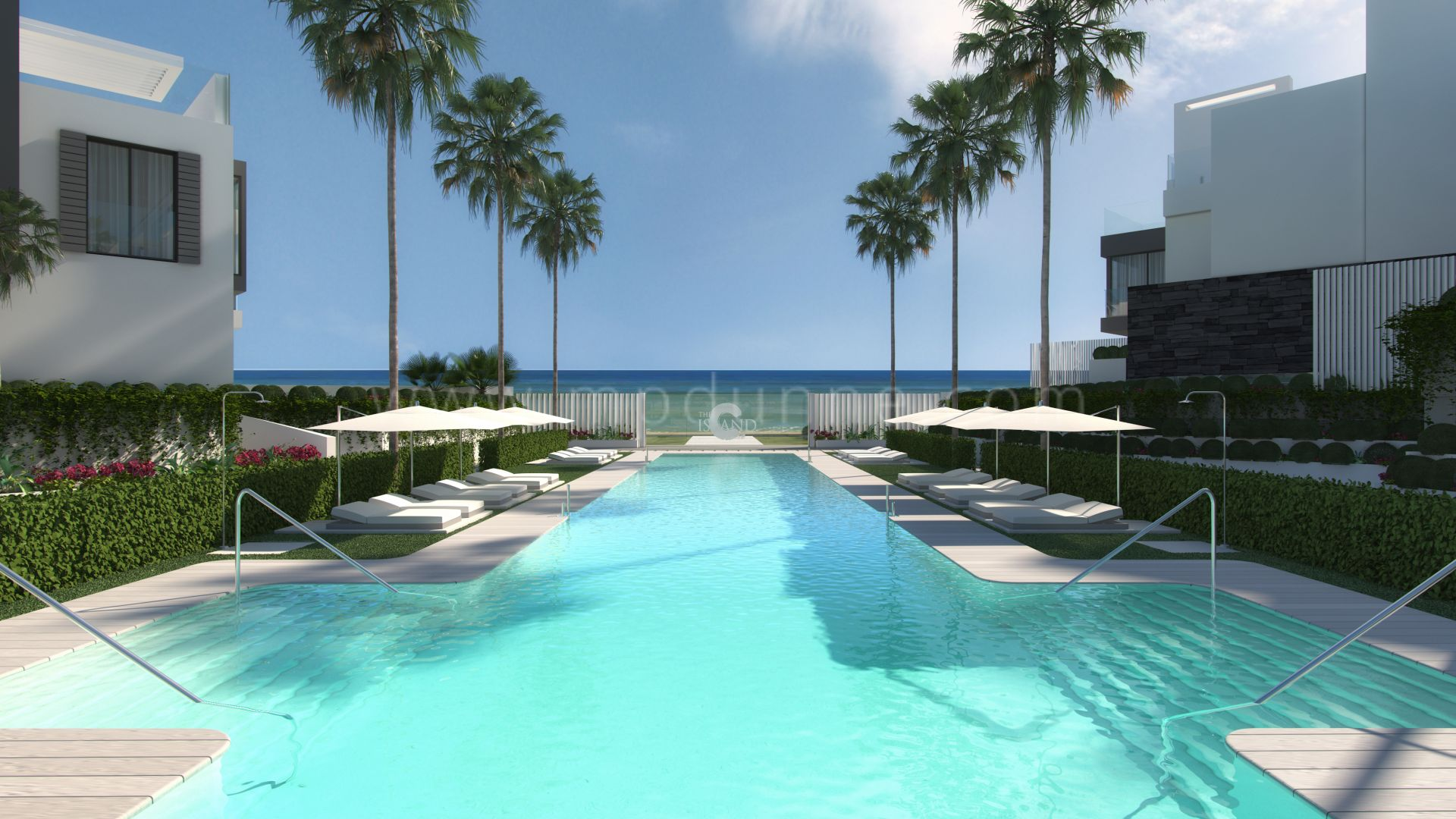 """the island, modern residential complex """"the island""""- 50 townhouses"""
