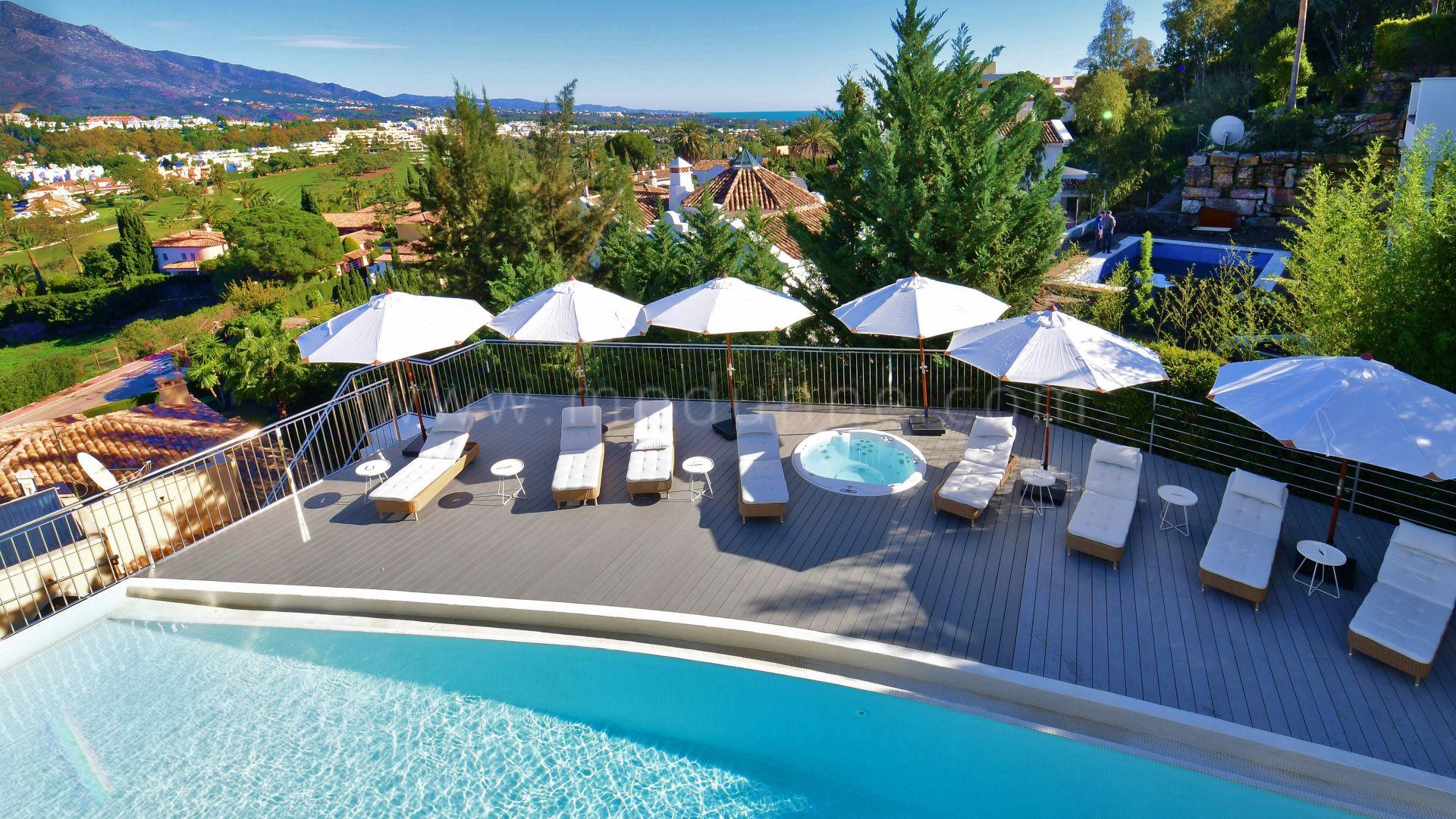 Los naranjos nueva andaluc a impresionante villa con 7 - La sala nueva andalucia ...