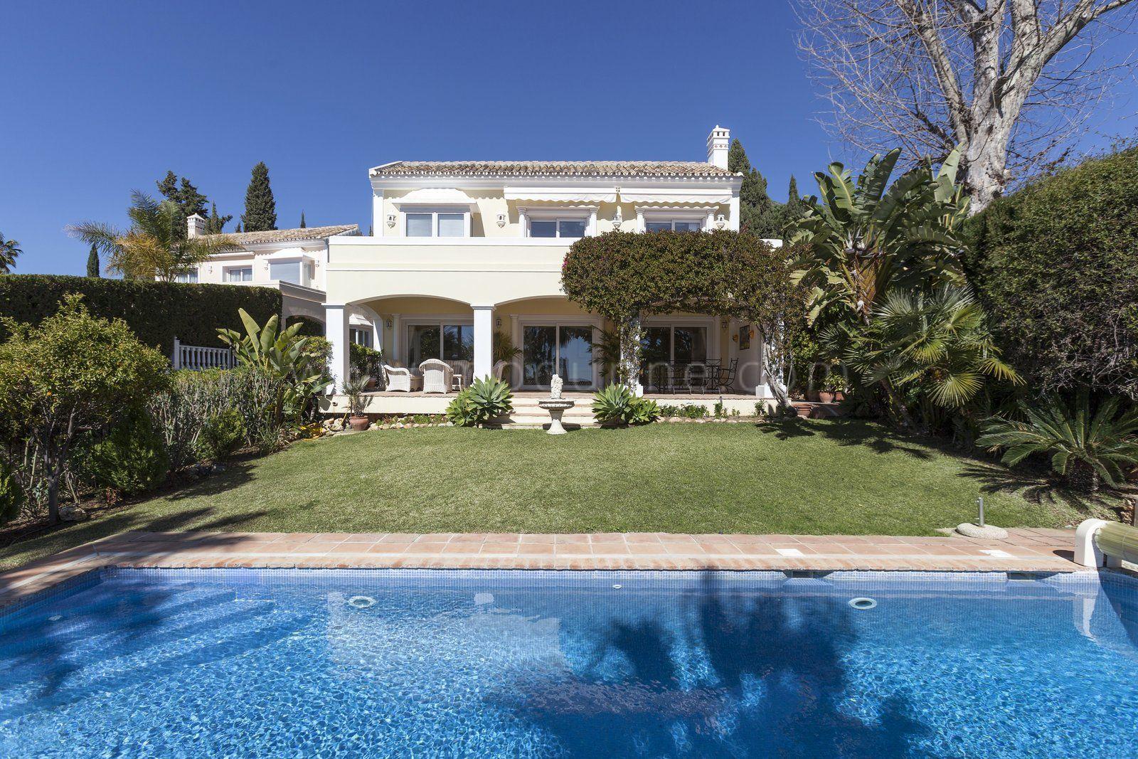 Impresionante Villa En La Milla De Oro De Marbella
