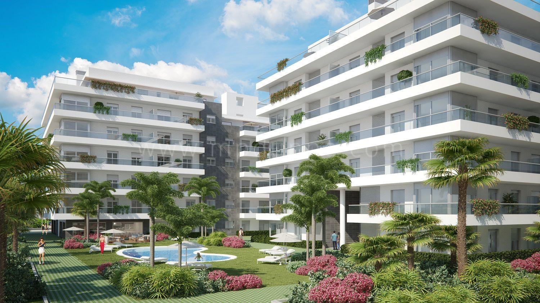 New development in nueva andaluc a jardines de guadaiza - Jardines de andalucia ...
