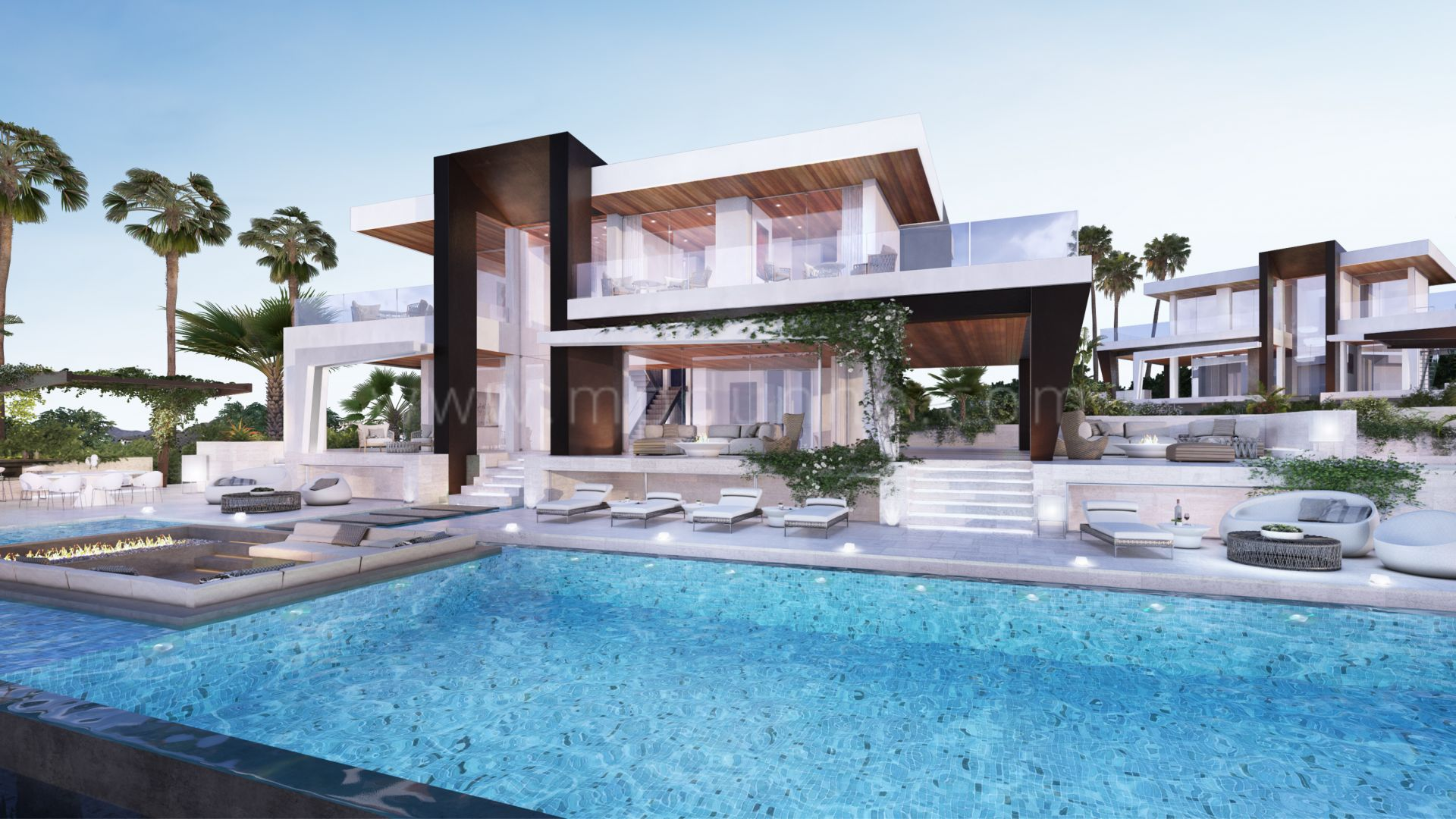 stunning off plan modern villa in la cerquilla nueva. Black Bedroom Furniture Sets. Home Design Ideas