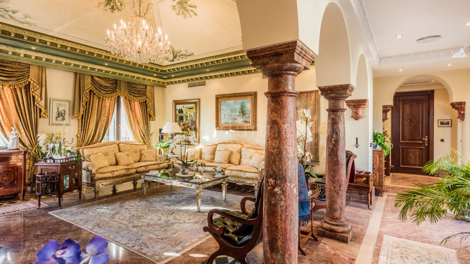 Classical Marbella Mansion in Sierra Blanca with Panoramic Sea views - Gallery