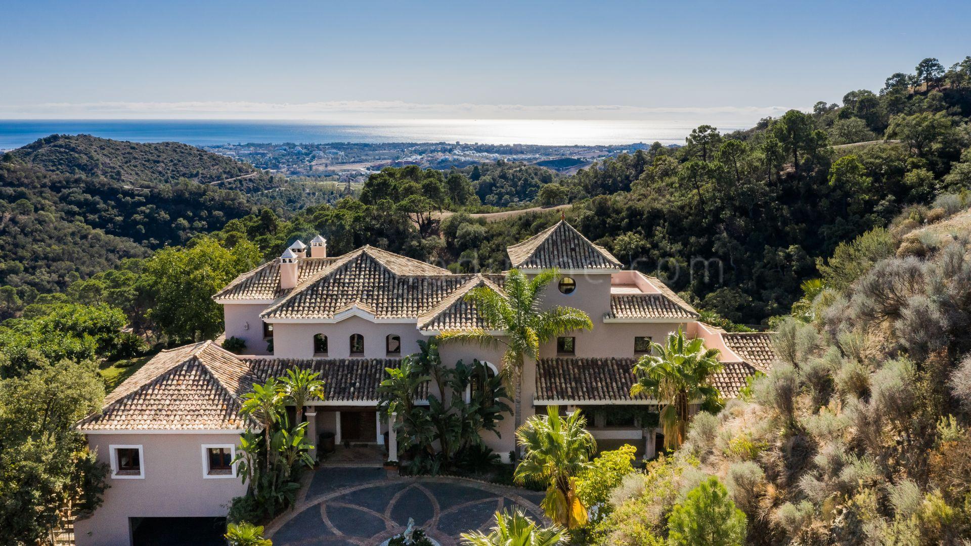 La Zagaleta Villa With Panoramic Sea And Mountain Views