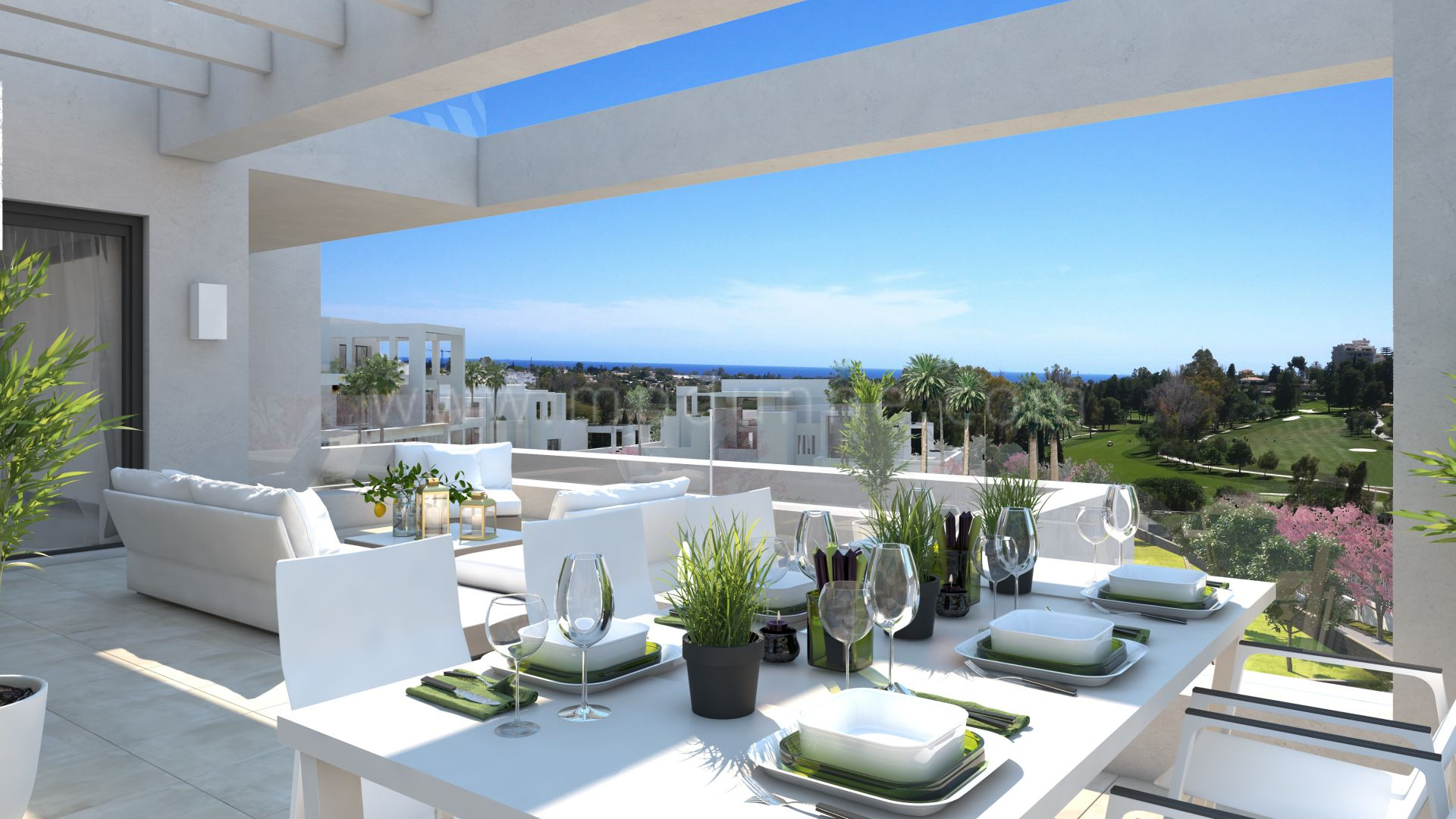 Development in Atalaya Golf, Estepona