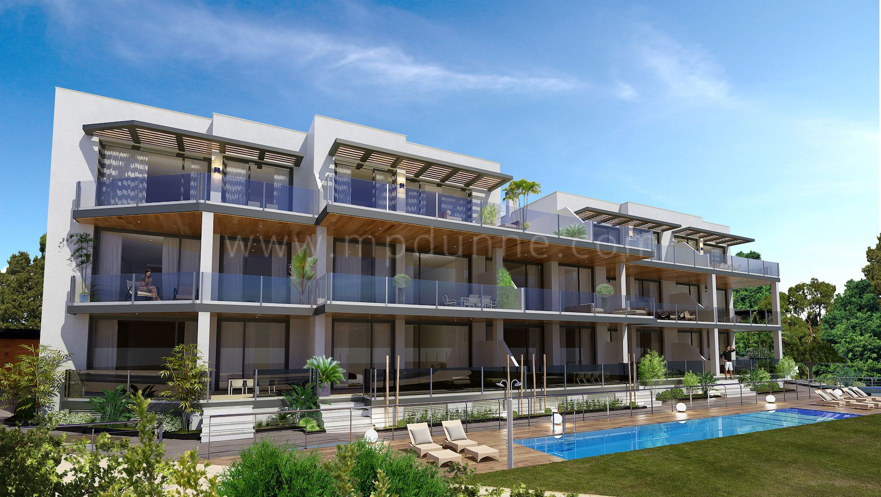 Development in Costalita, Estepona