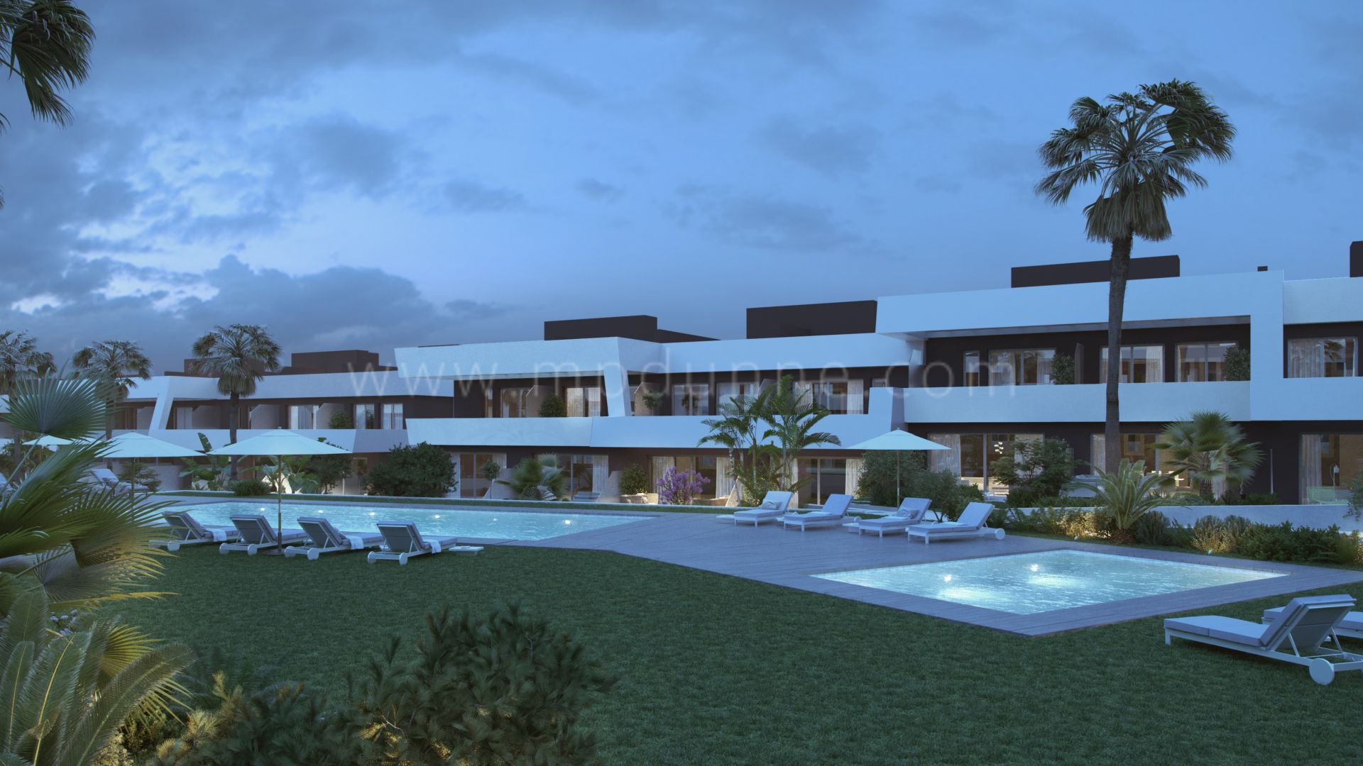 Development in La Cala Hills, Mijas Costa