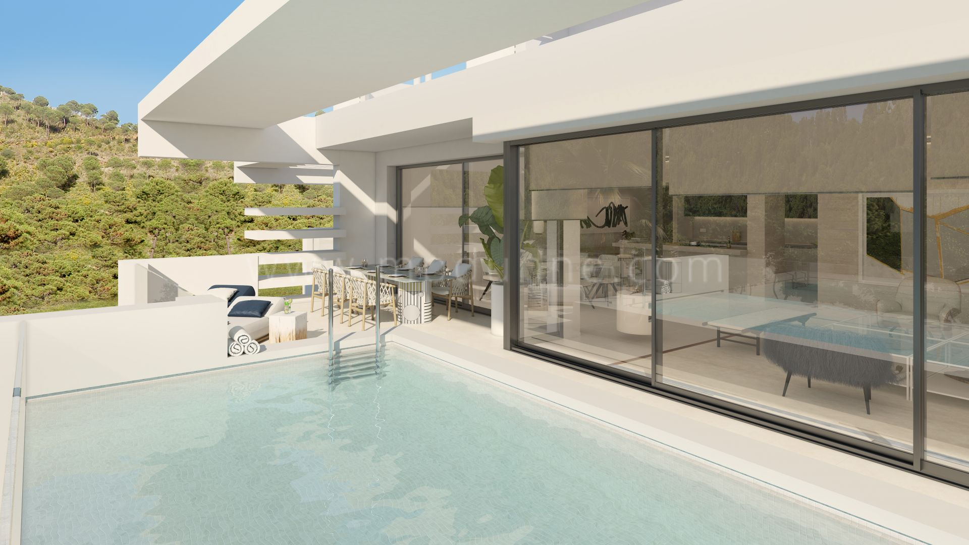 Development in Las Lomas del Marbella Club, Marbella Golden Mile