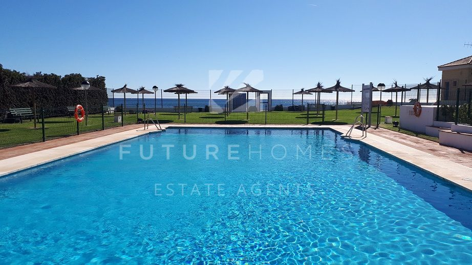 Frontline beach apartment for sale with sea views and sunny terrace