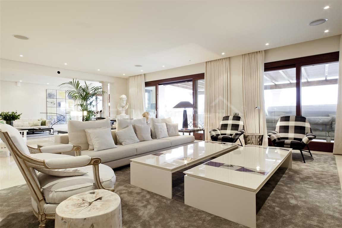 Los Monteros Playa Luxury Penthouse On The Beach Front