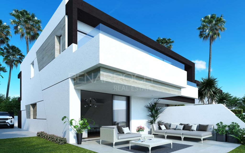 Semi-detached house in La Resina Golf, Estepona, residential Oasis 22
