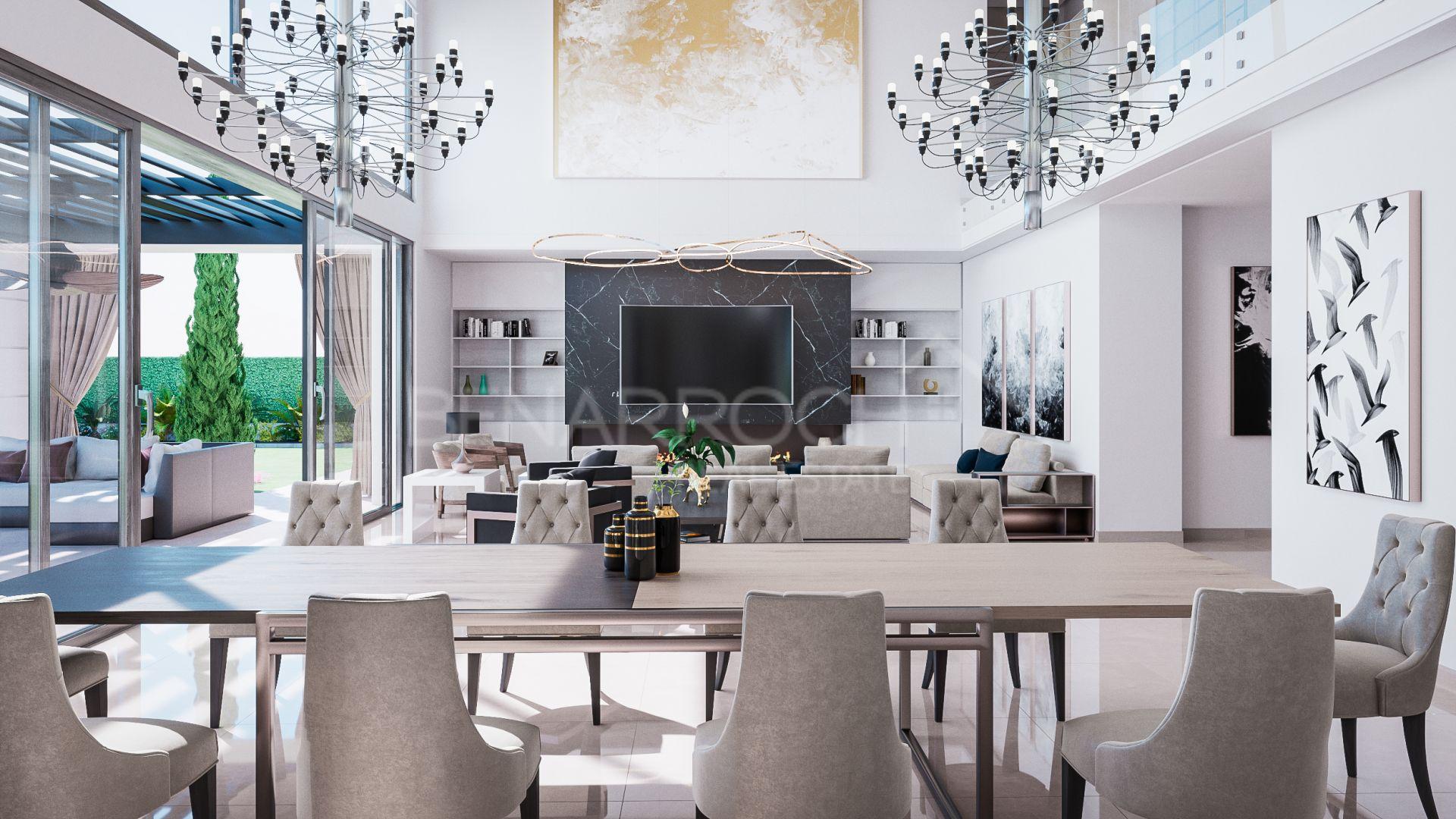 Contemporary Style Villa In Casasola Estepona