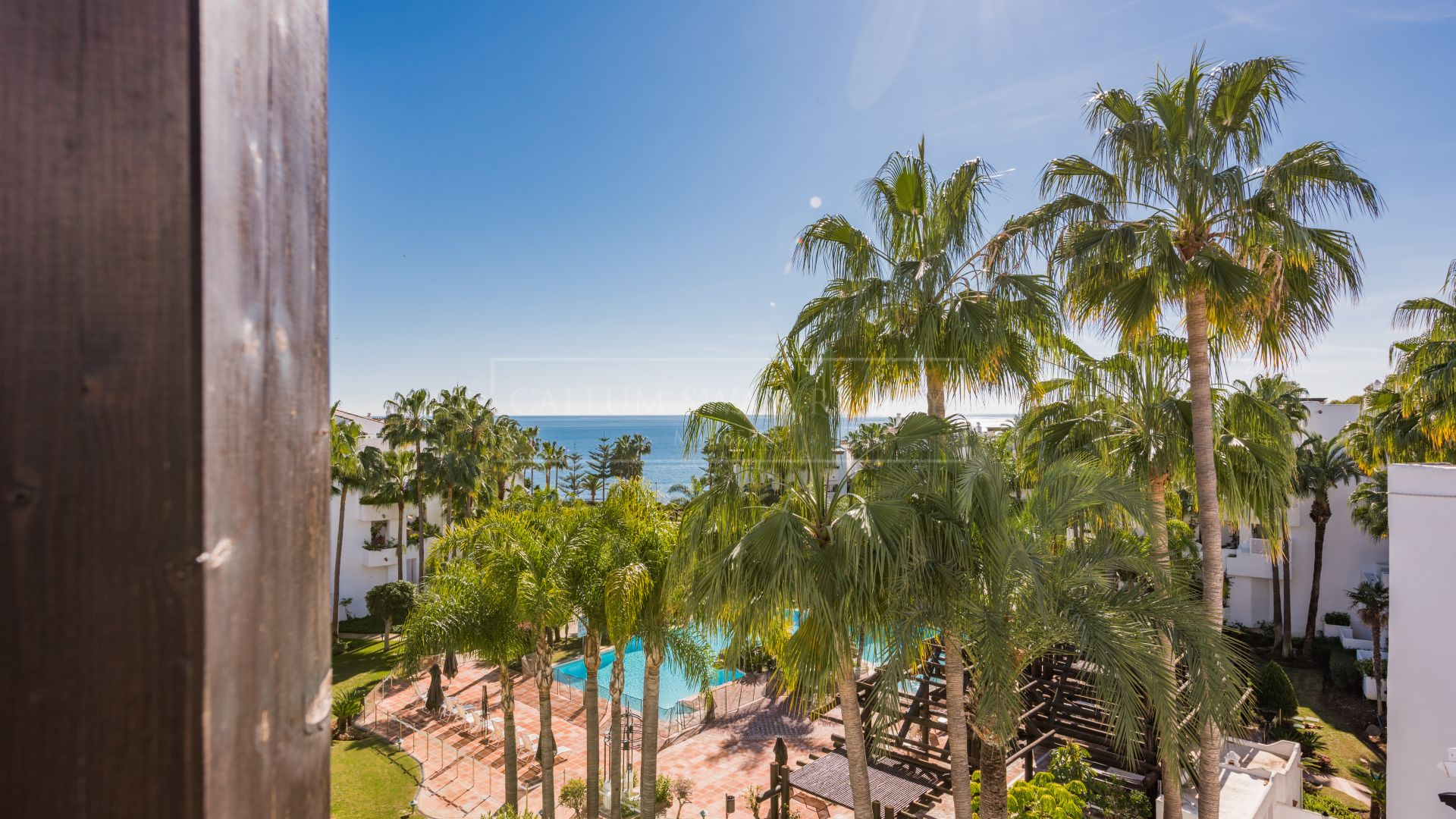 Elegant duplex penthouse in Japanese Gardens of Marina Puente Romano the most sought after location of Marbella's Golden Mile