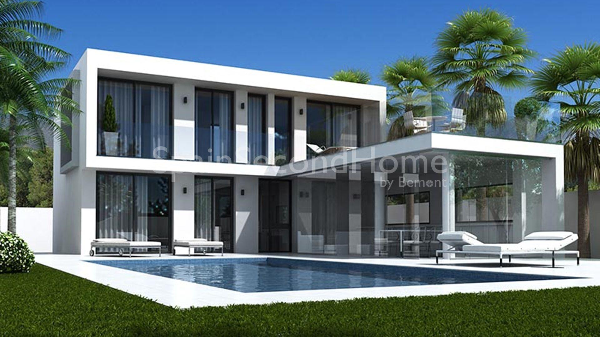 Villa sur plan fantastique vendre ciudad quesada for Houseplans vivente del sud