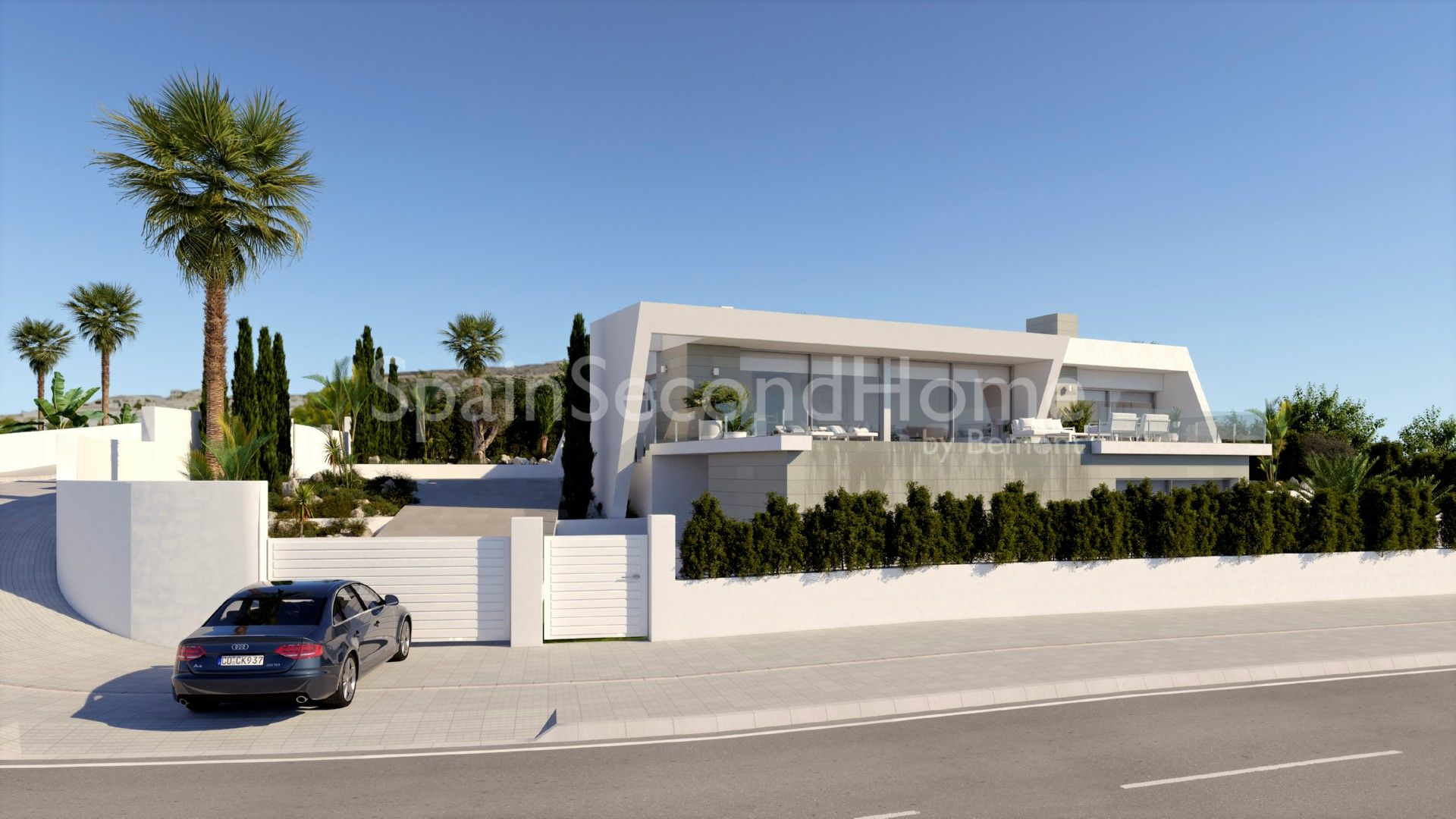 Villa cumbre del sol benitachell for 6 bedroom house with swimming pool for sale
