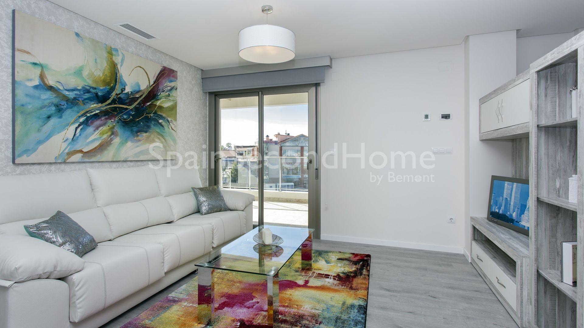 appartement fantastique moderne vendre costa blanca sud. Black Bedroom Furniture Sets. Home Design Ideas