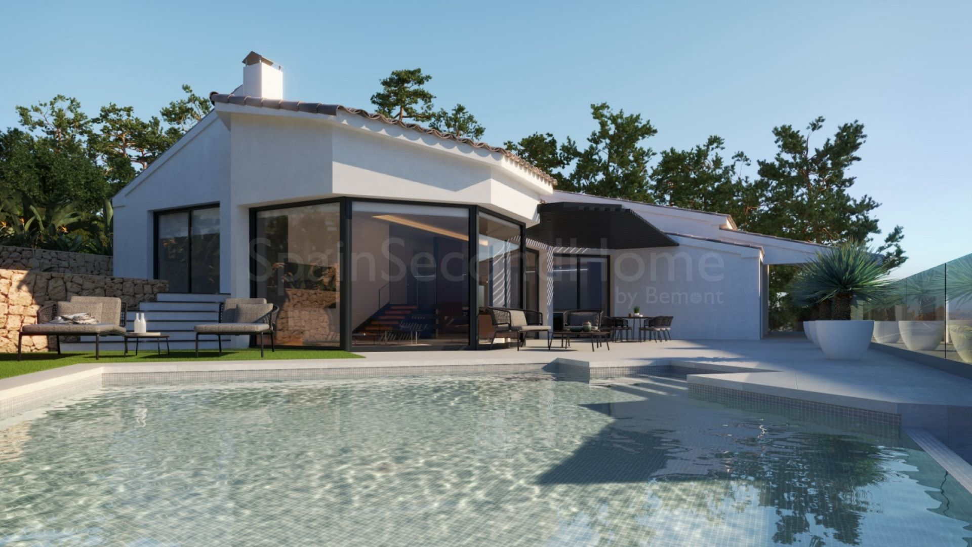 Detached Villa in Sierra de Altea, Altea