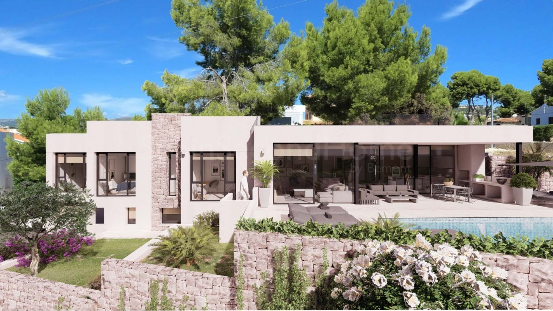 Detached Villa for sale in Calpe