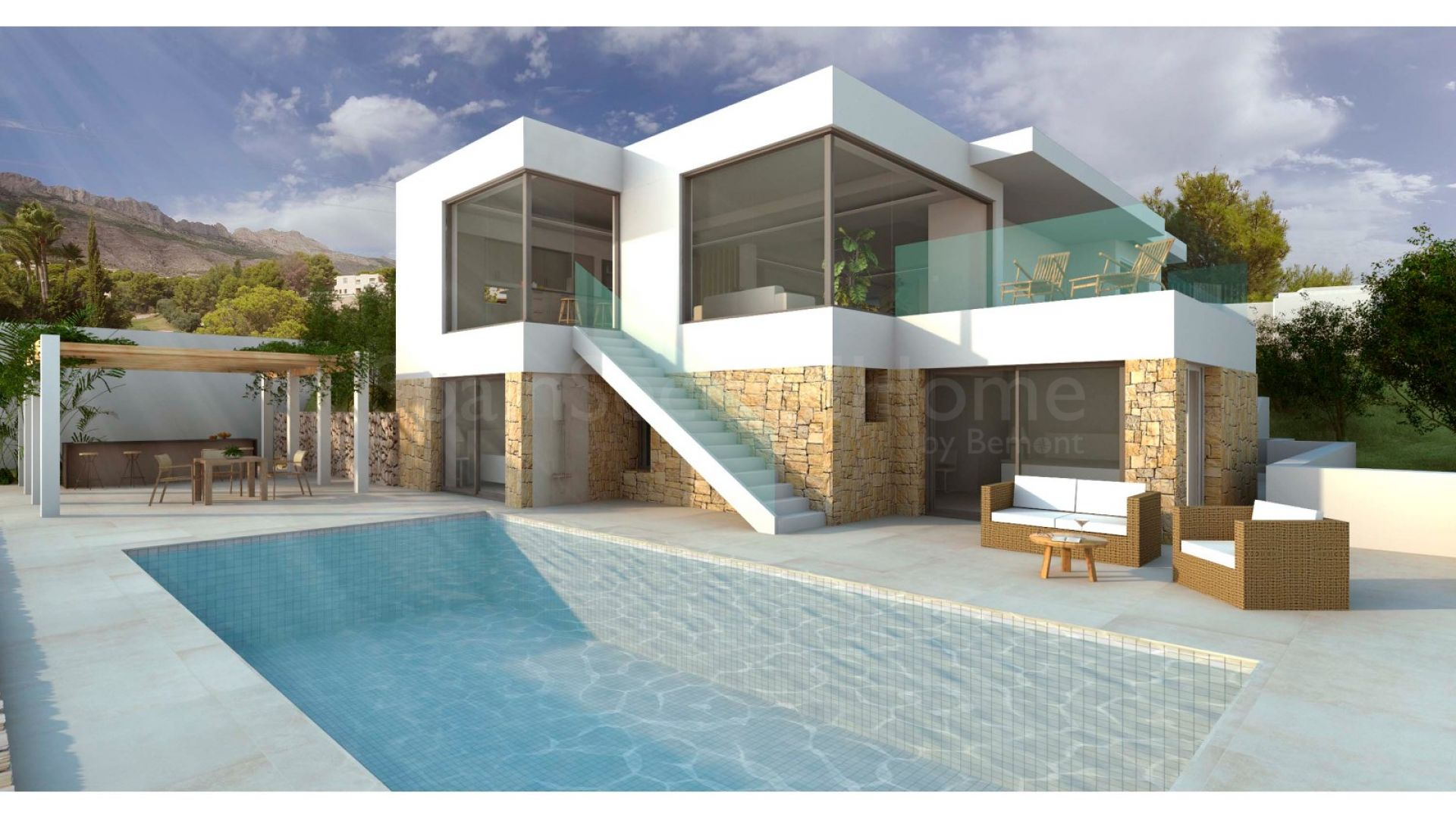 Detached Villa for sale in Altea