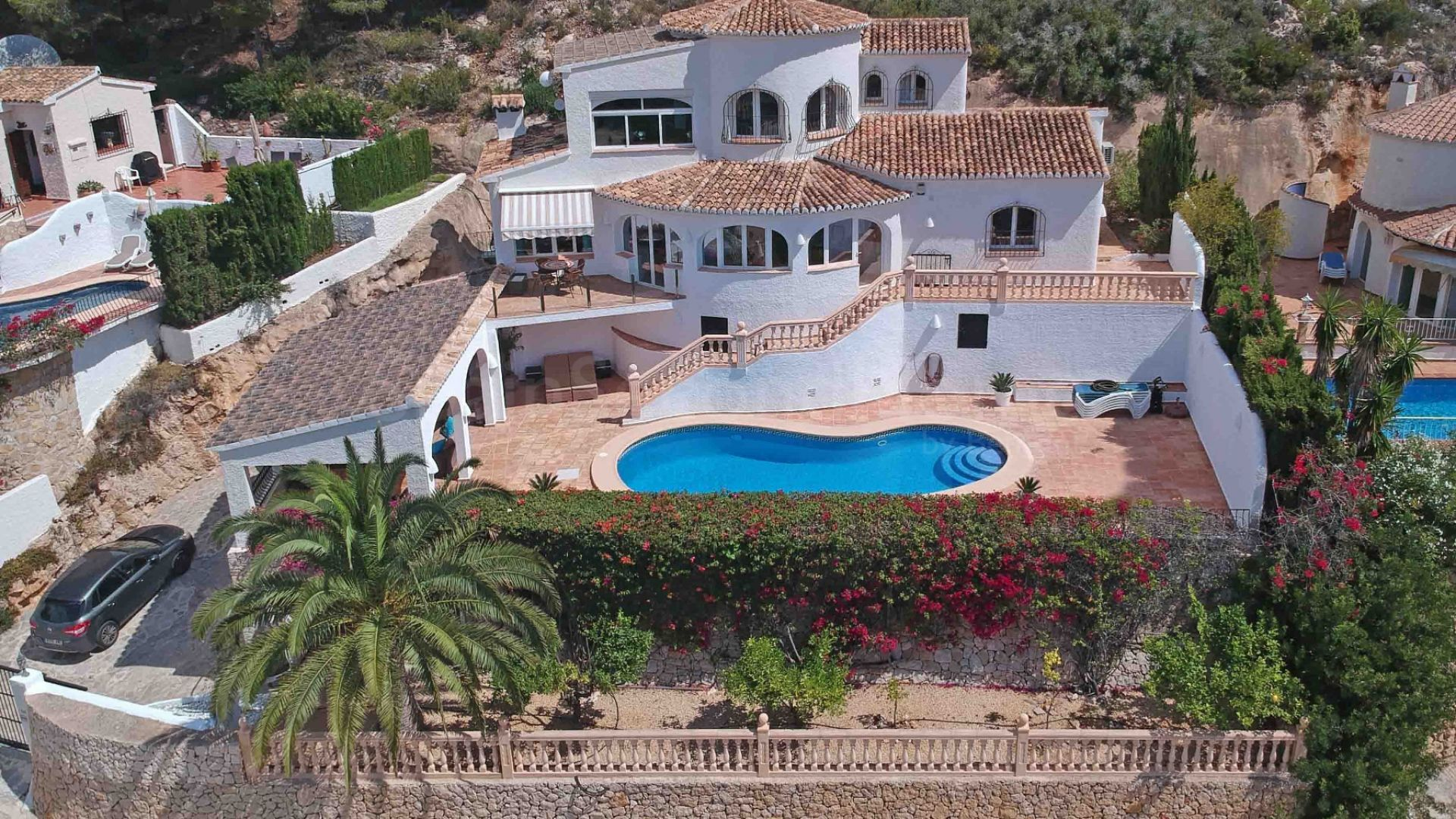 Detached Villa for sale in El Portet, Moraira