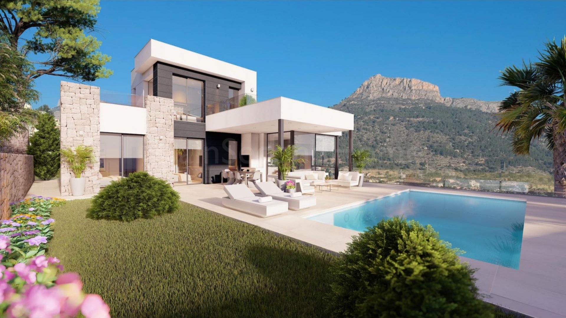 Detached Villa for sale in Maryvilla, Calpe