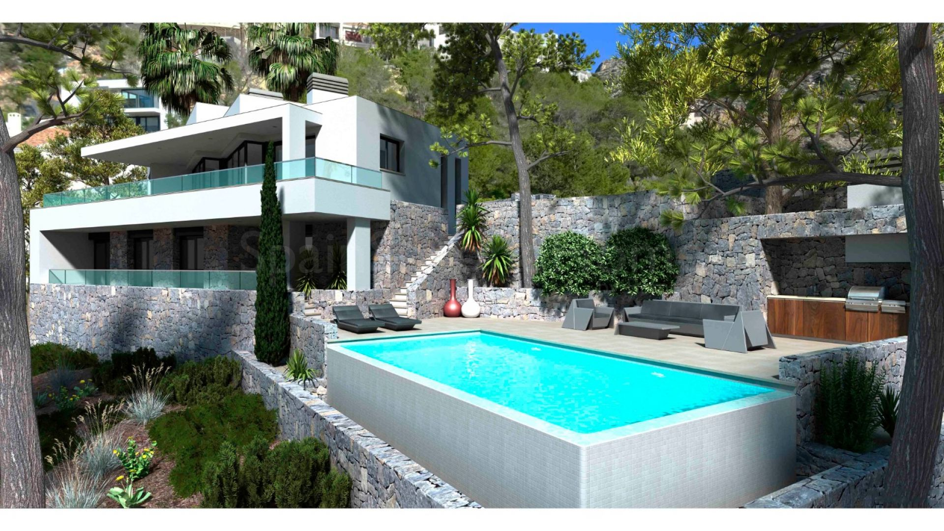 Detached Villa for sale in Altea Hills, Altea