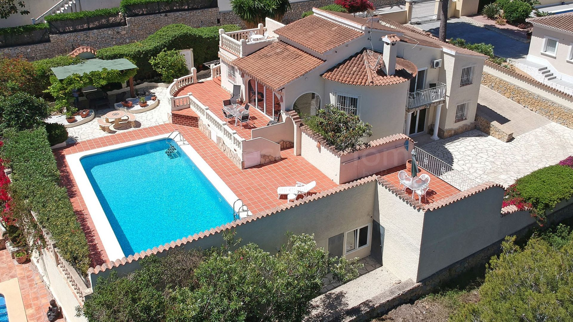 Detached Villa for sale in Moraira