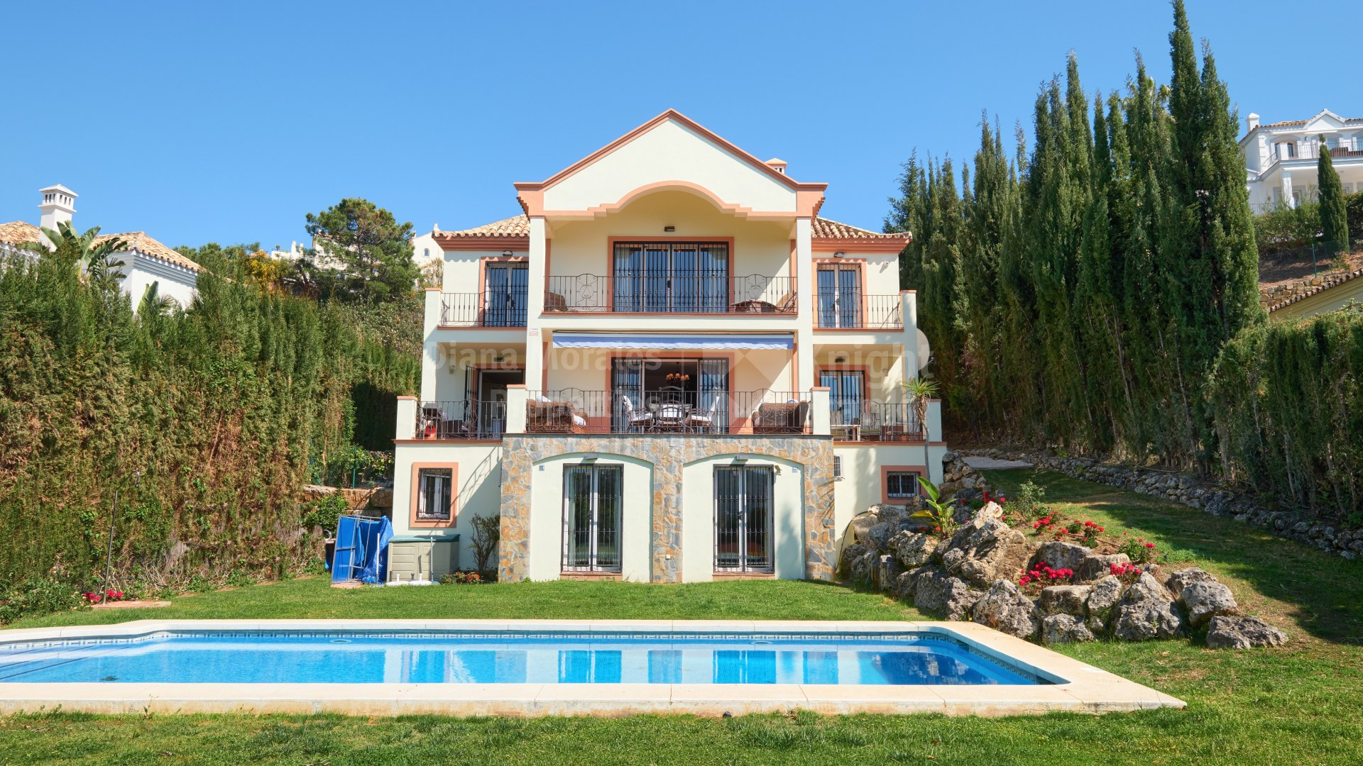 El Capitan, Villa with Panoramic Sea Views