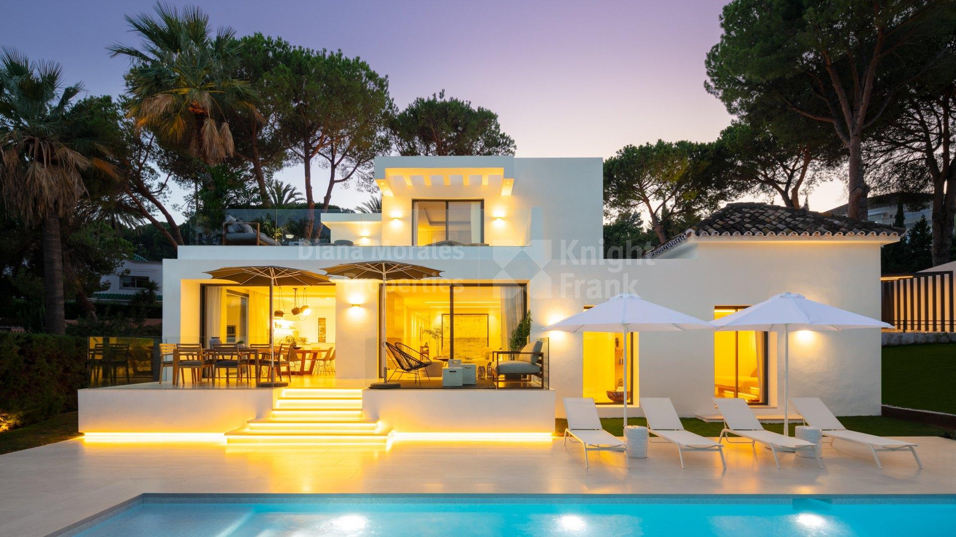 Contemporary style villa in las brisas