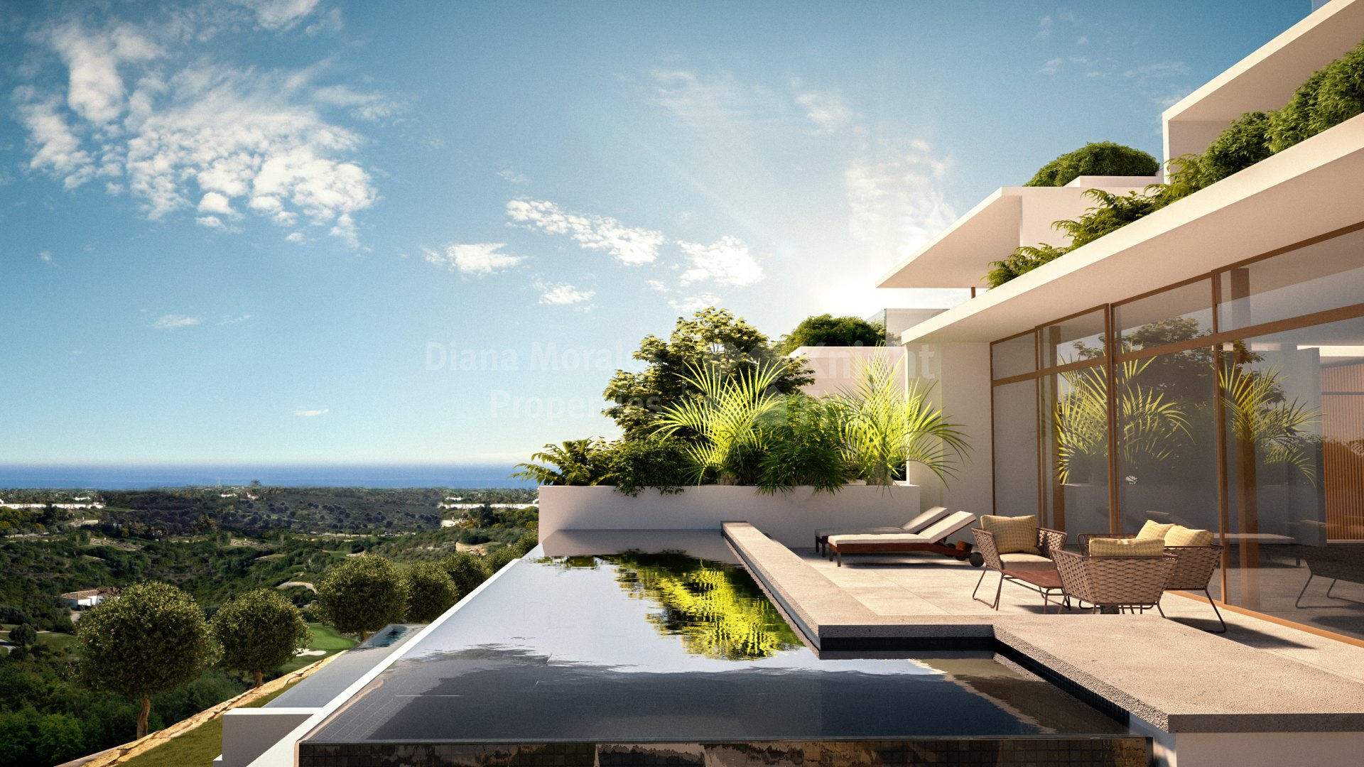 Finca Cortesin, Penthouse in luxury resort
