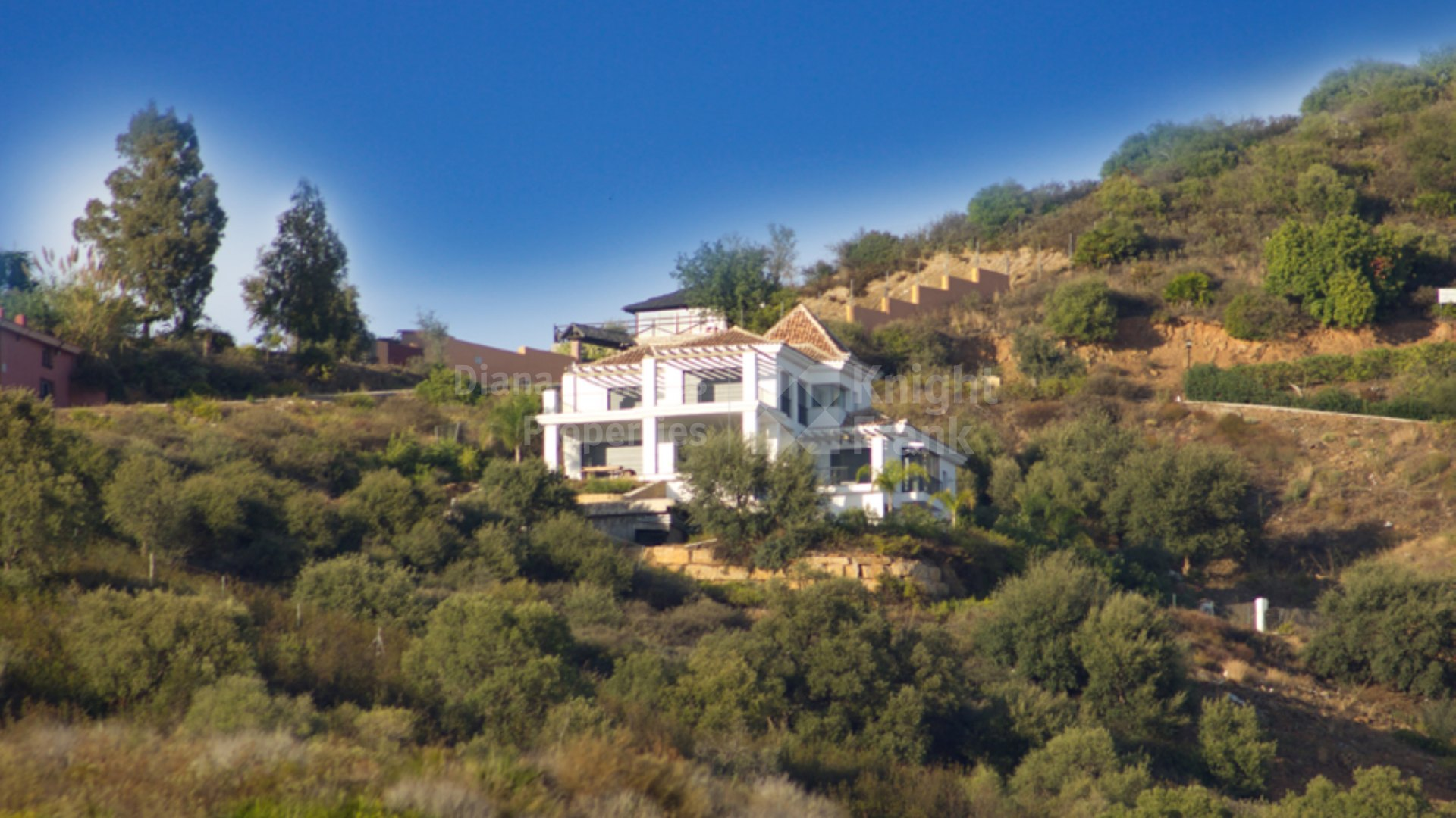 Los Altos de los Monteros, Villa with amazing panoramic views