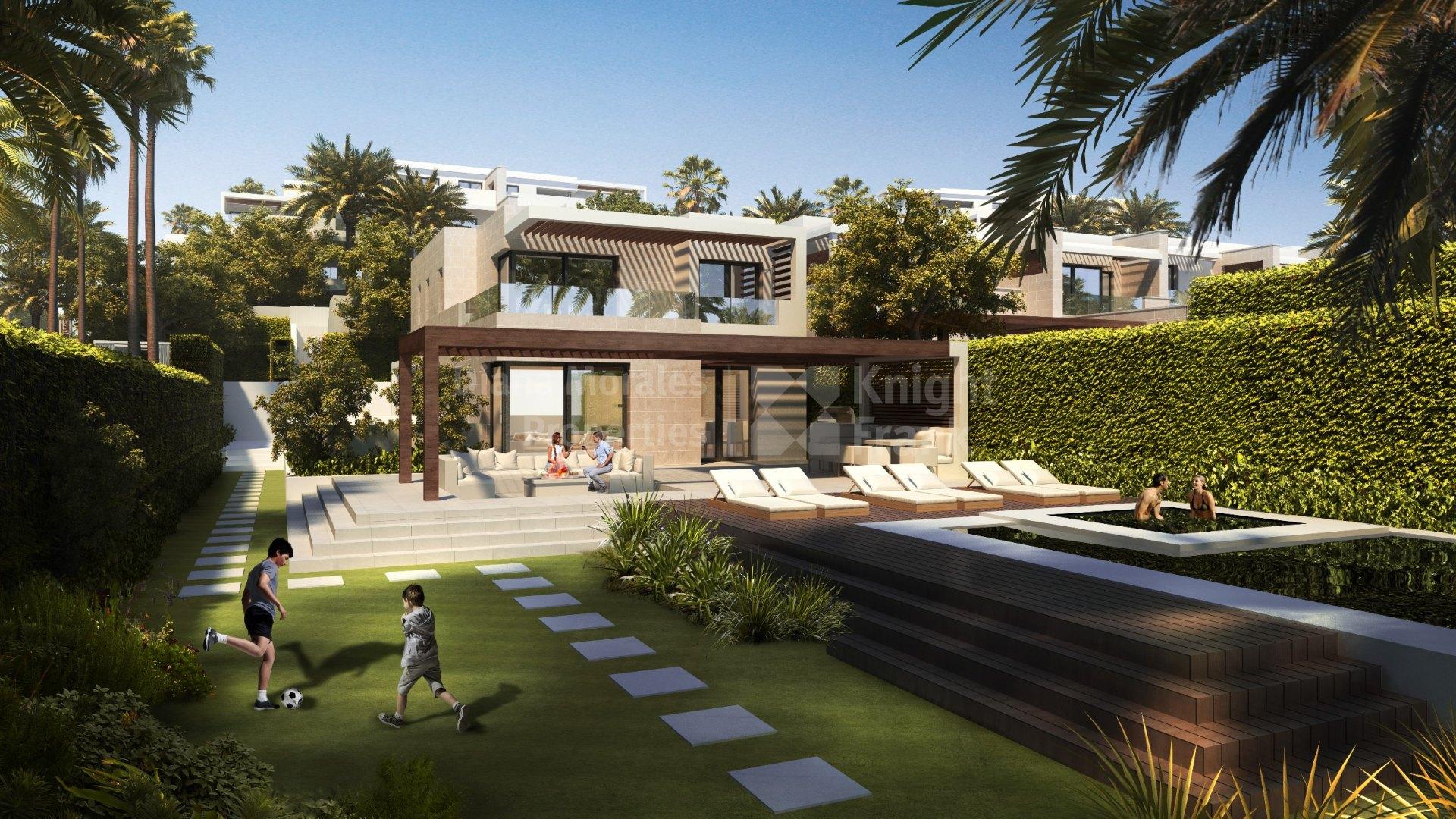 Frontline beach villas for sale in Marbella
