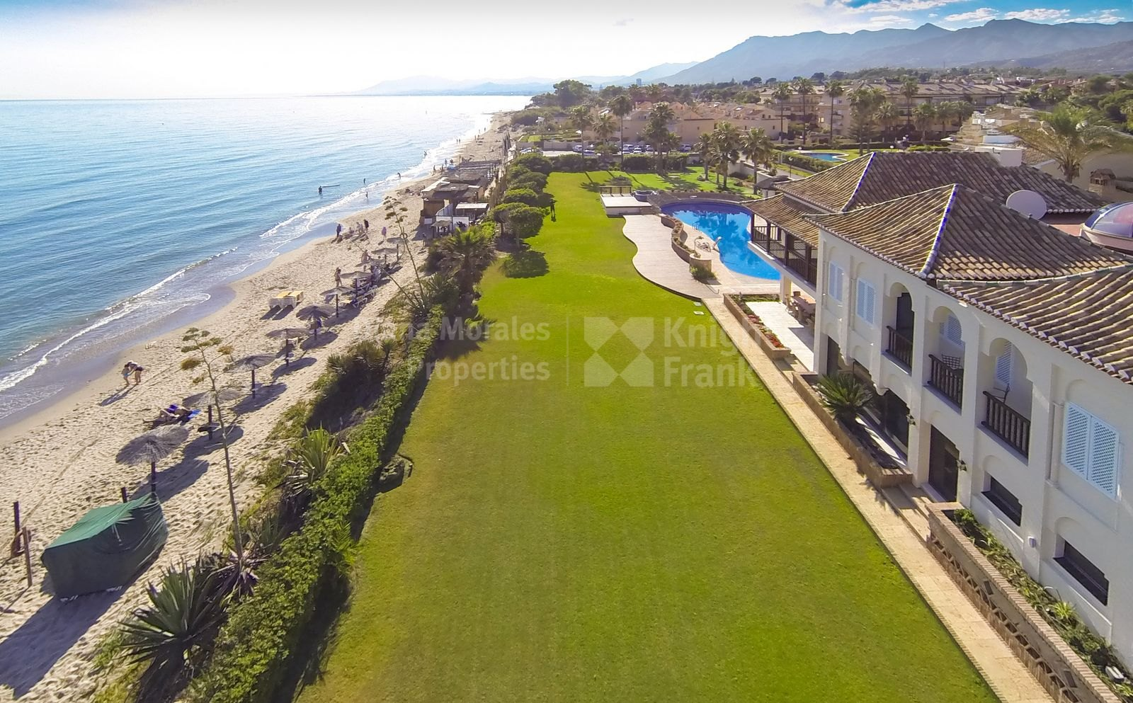 Las Chapas, Stunning Beachfront Estate