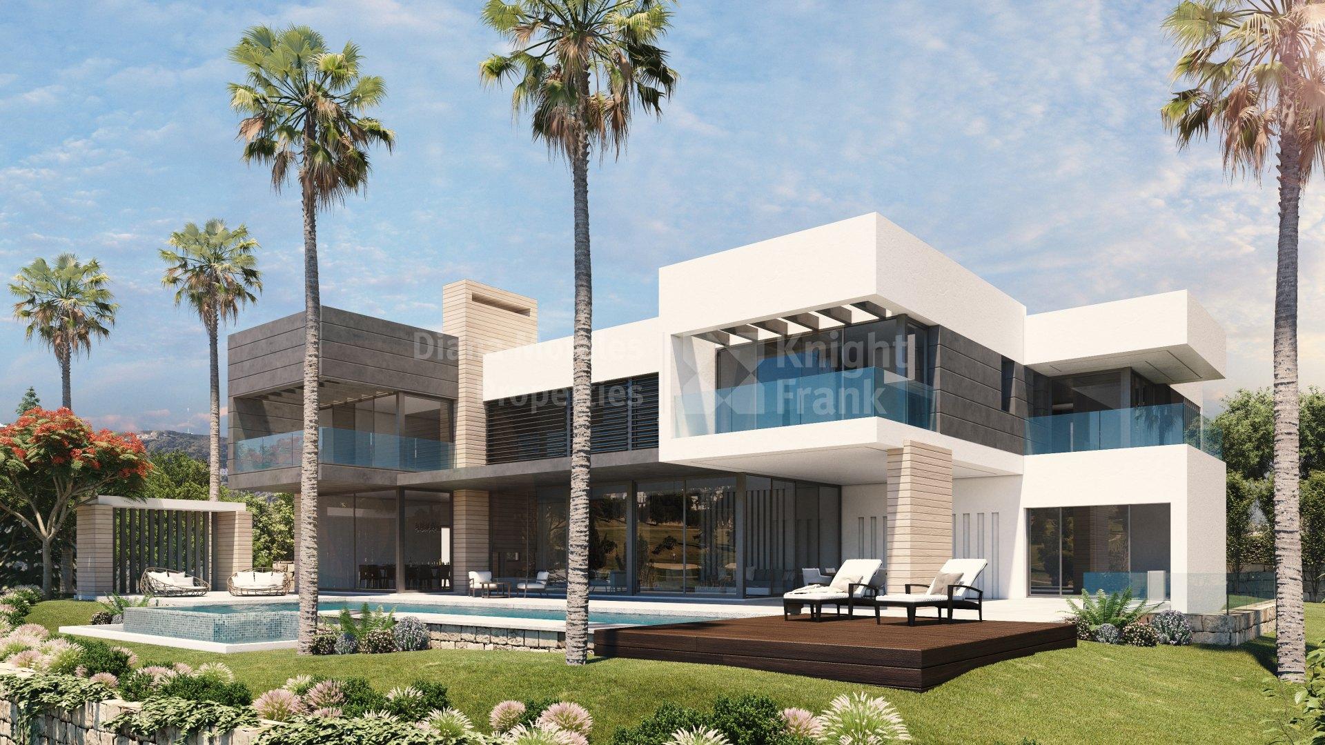 Modern villas for sale in Marbella