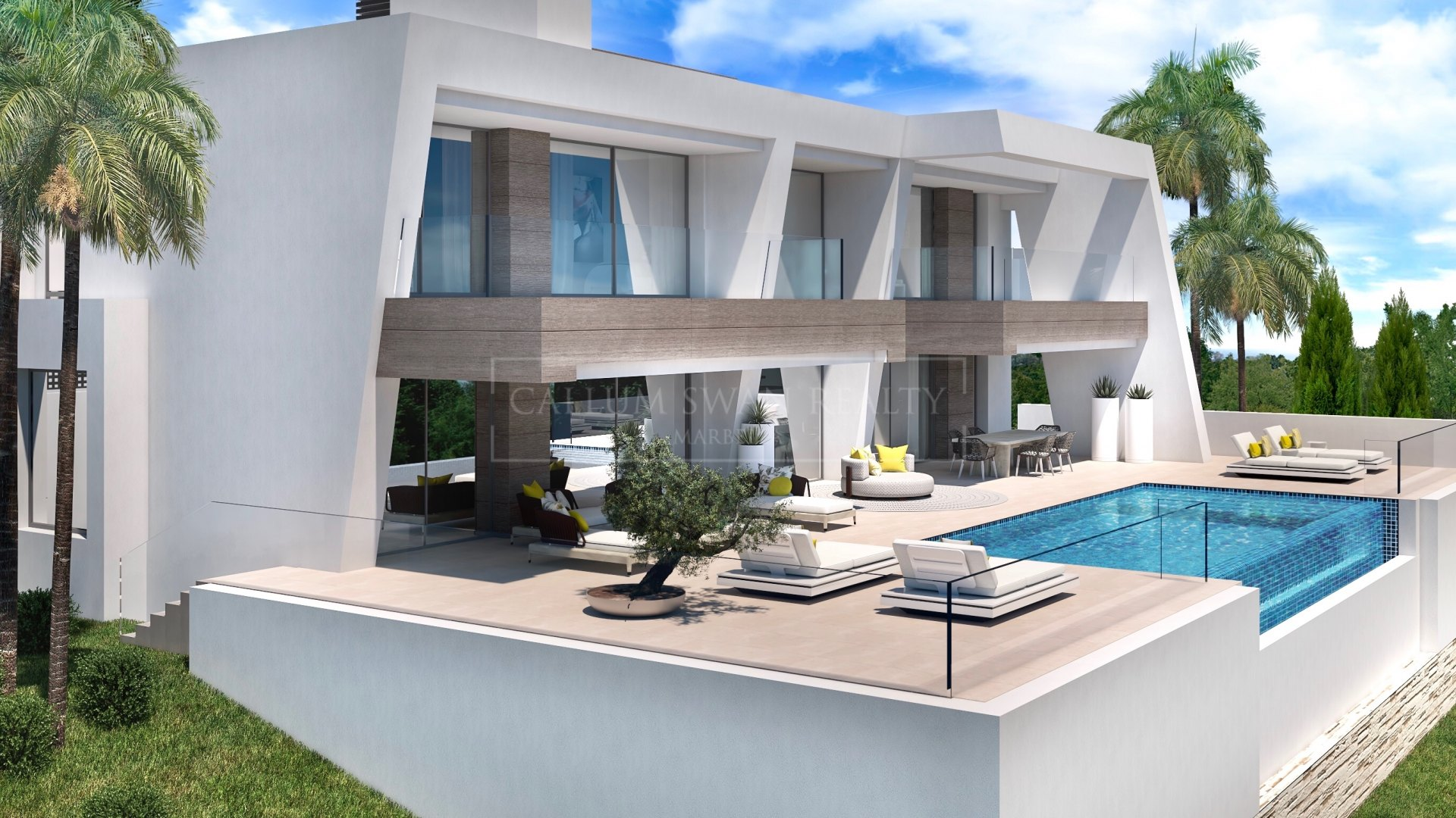 Luxury modern villas in Estepona