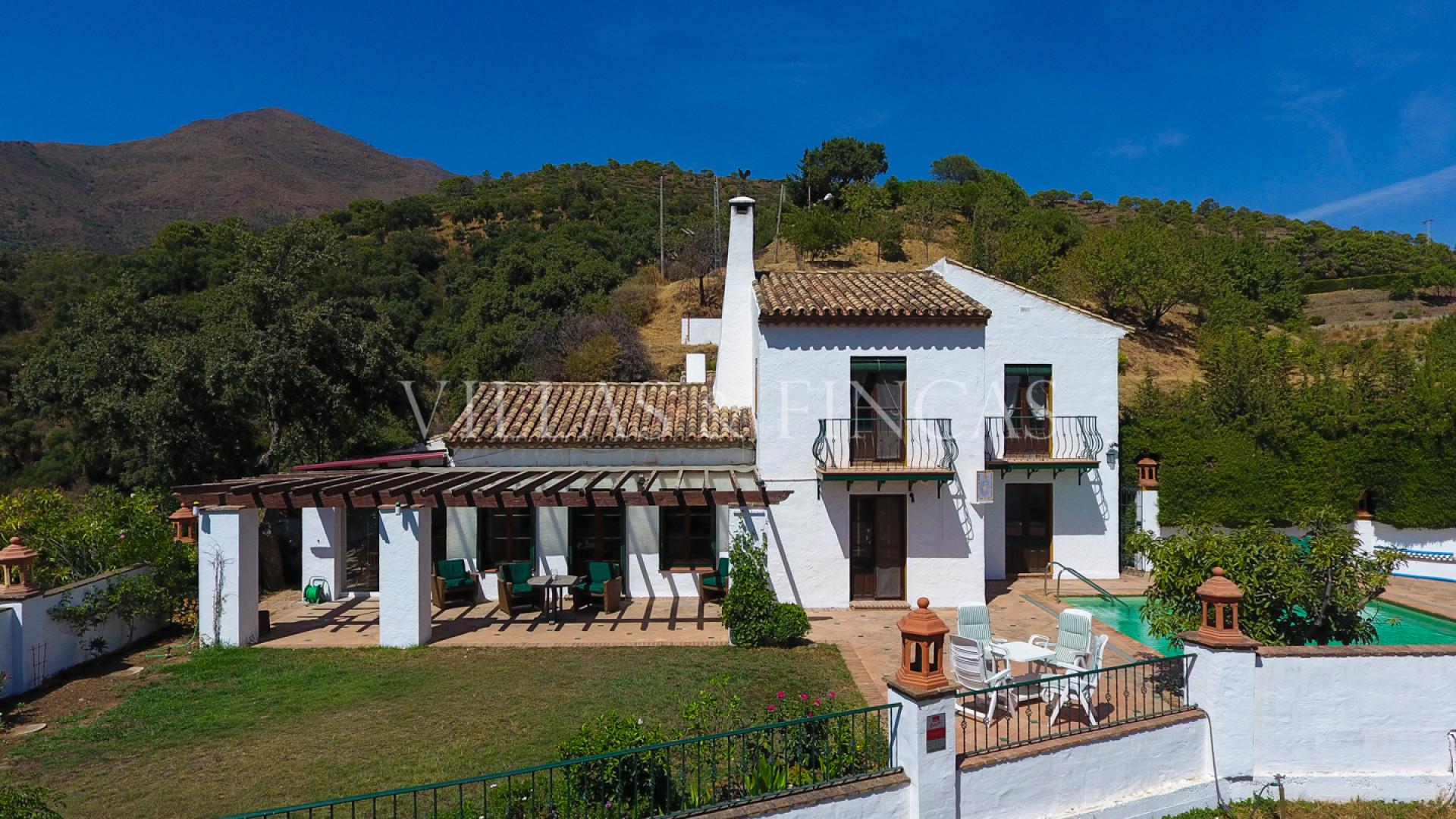 Landhuis te koop in Casares