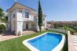 Mediterranean style villa Santa María Golf