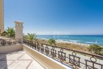 Desirable First Line Beach Duplex Penthouse