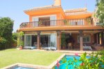 Private Villa Fronting Golf and Sea