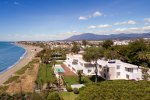 La Perla Blanca: Unique Beachfront Modern Property in Marbella West