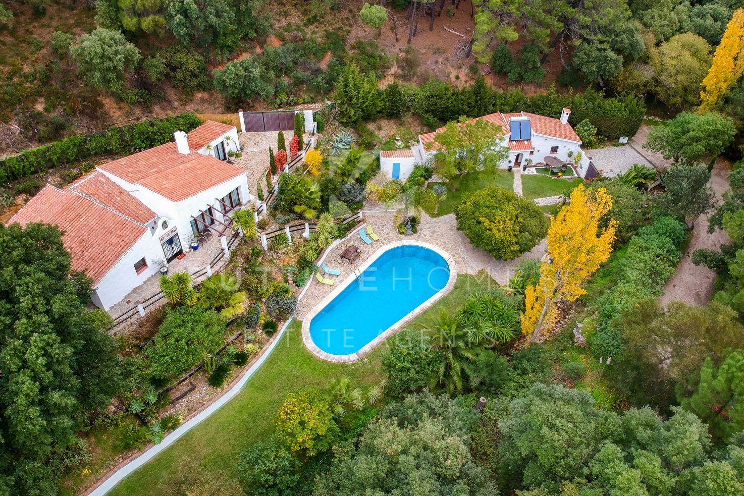 Beautiful country villa with guest house located in the picturesque valley of Casares