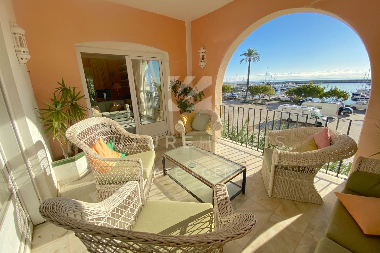 3 in 1! Amazing large corner townhouse overlooking Estepona Marina!
