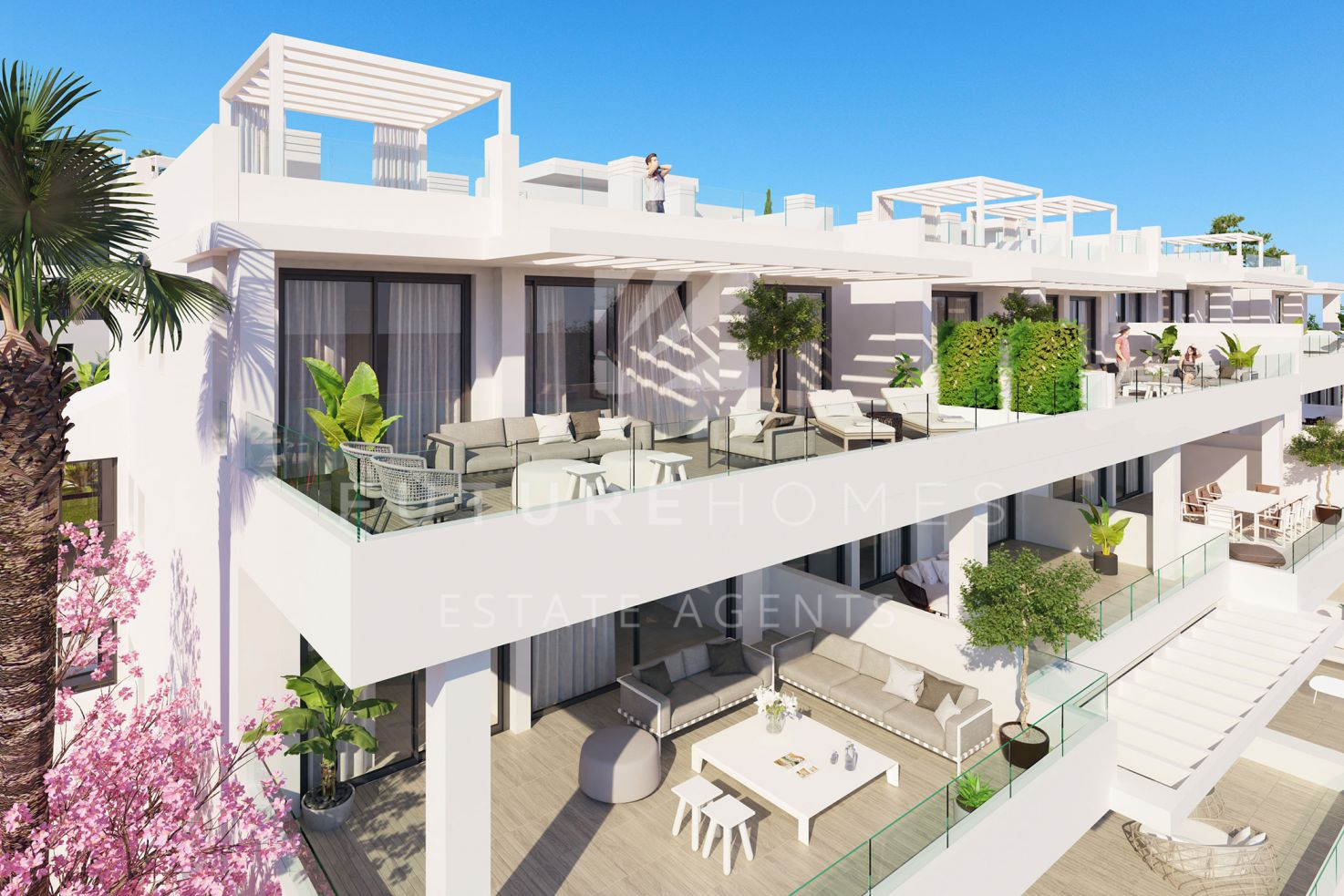 Brand new apartment for sale in the new development of Las Olas, Estepona