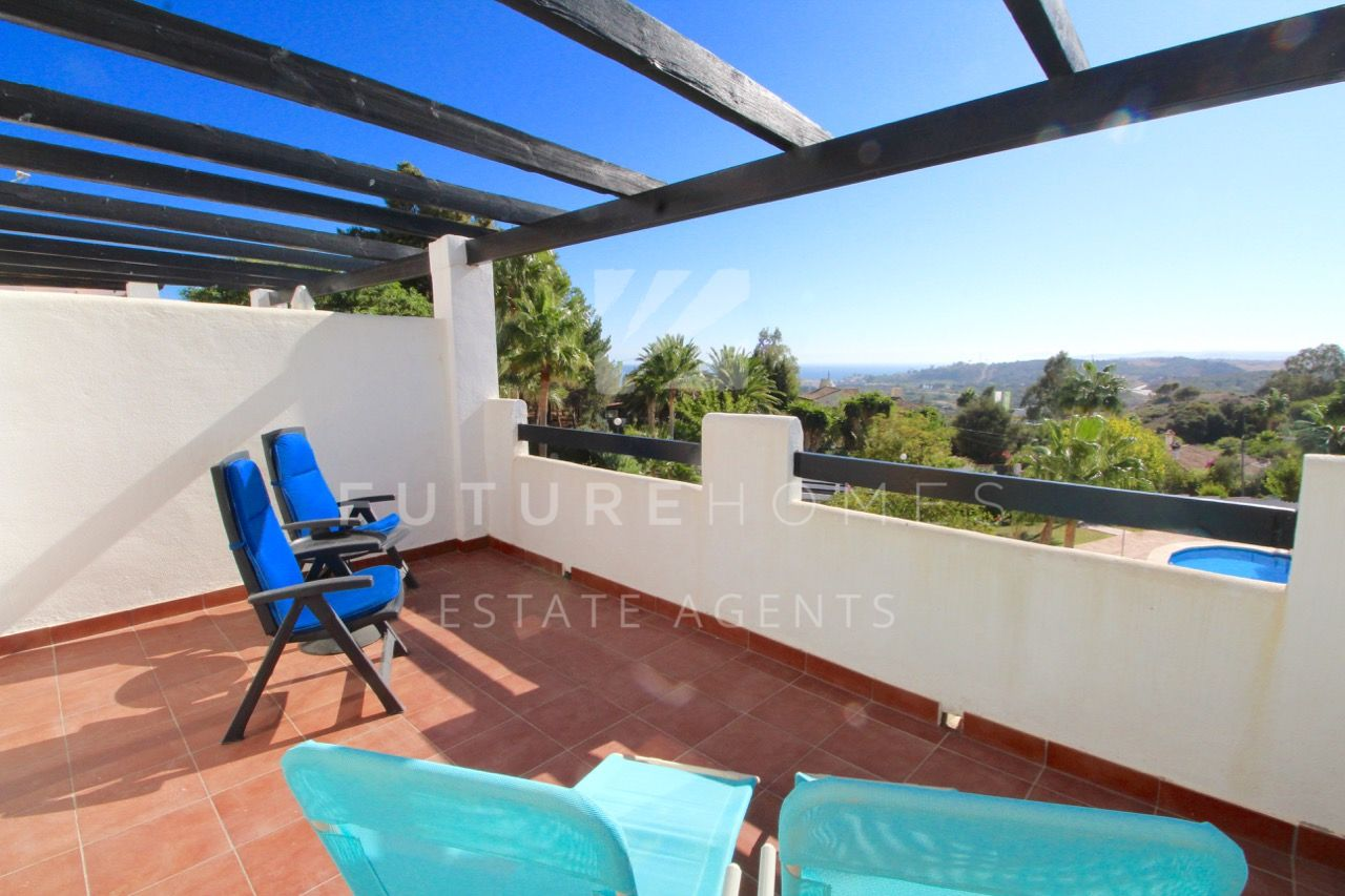 Immaculate and very spacious townhouse near Estepona!