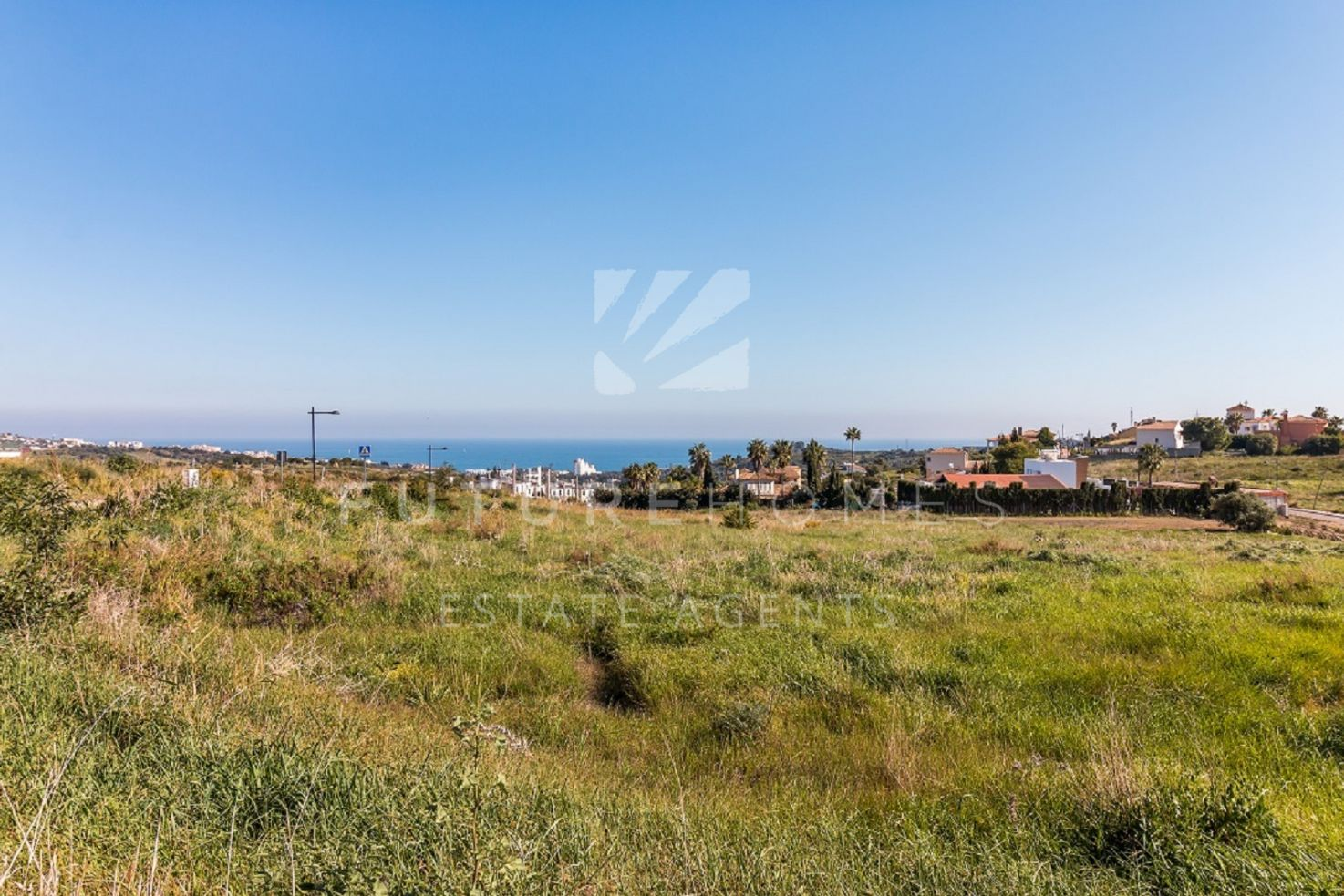 Plots with panoramic sea views and golf views for sale in Valle Romano Golf Estepona