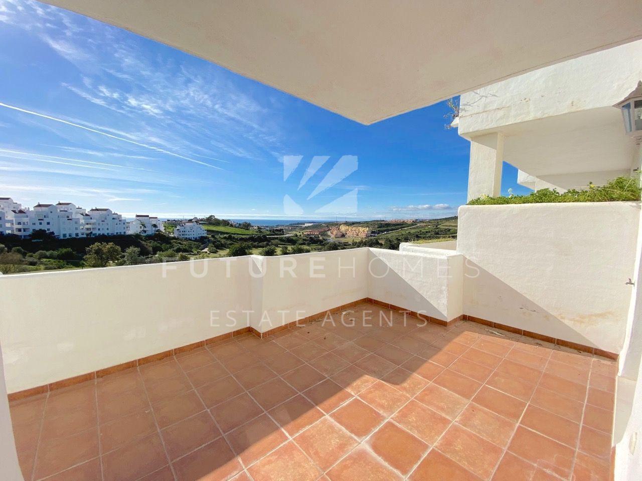 Frontline golf duplex for sale in Valle Romano Estepona
