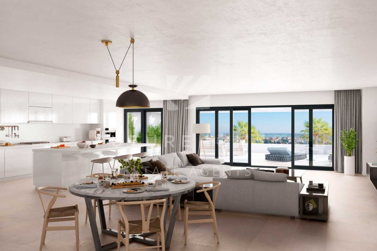 Fantastic new development walking distance to Estepona port!